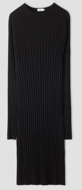 Ribbstickad klänning med långa ärmar från Filippa K.