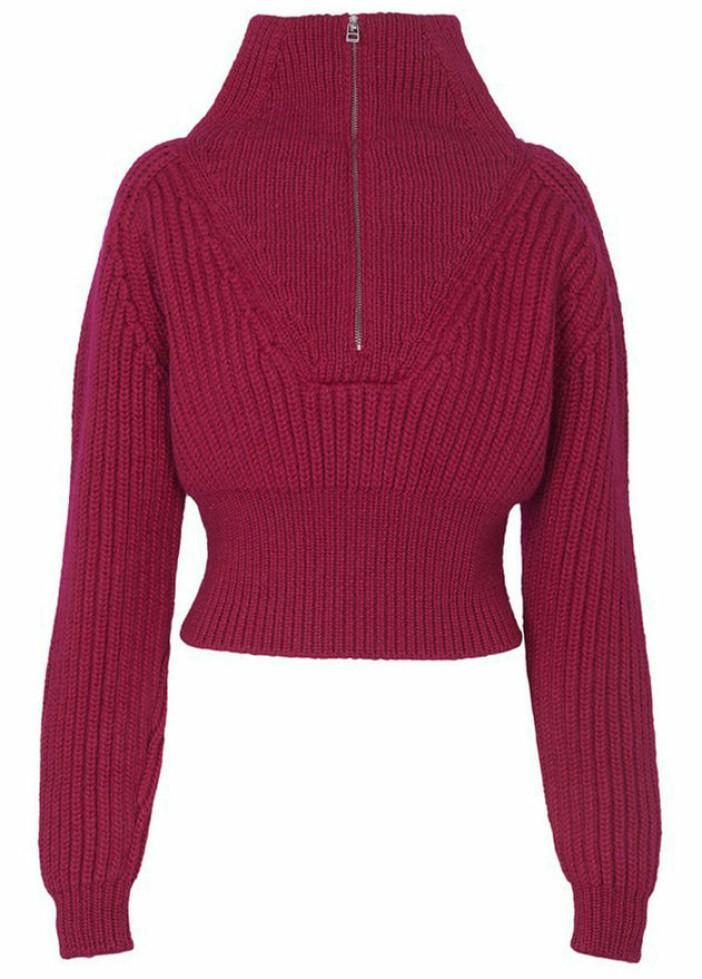 ribbstickad tröja från Jacquemus