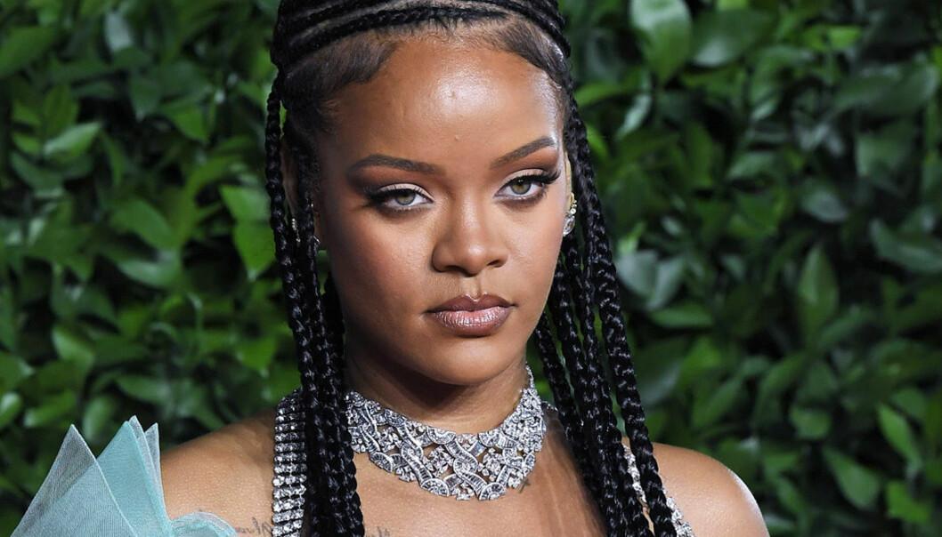 Rihanna är allvarlig
