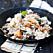 Krämig risotto med skogssvamp och parmesan.