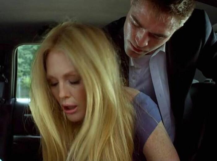 Robert Pattinson och Julianne Moore