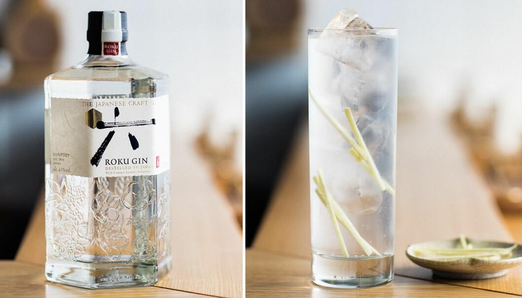 Gör en japansk Gin & Tonic med Roku Gin!