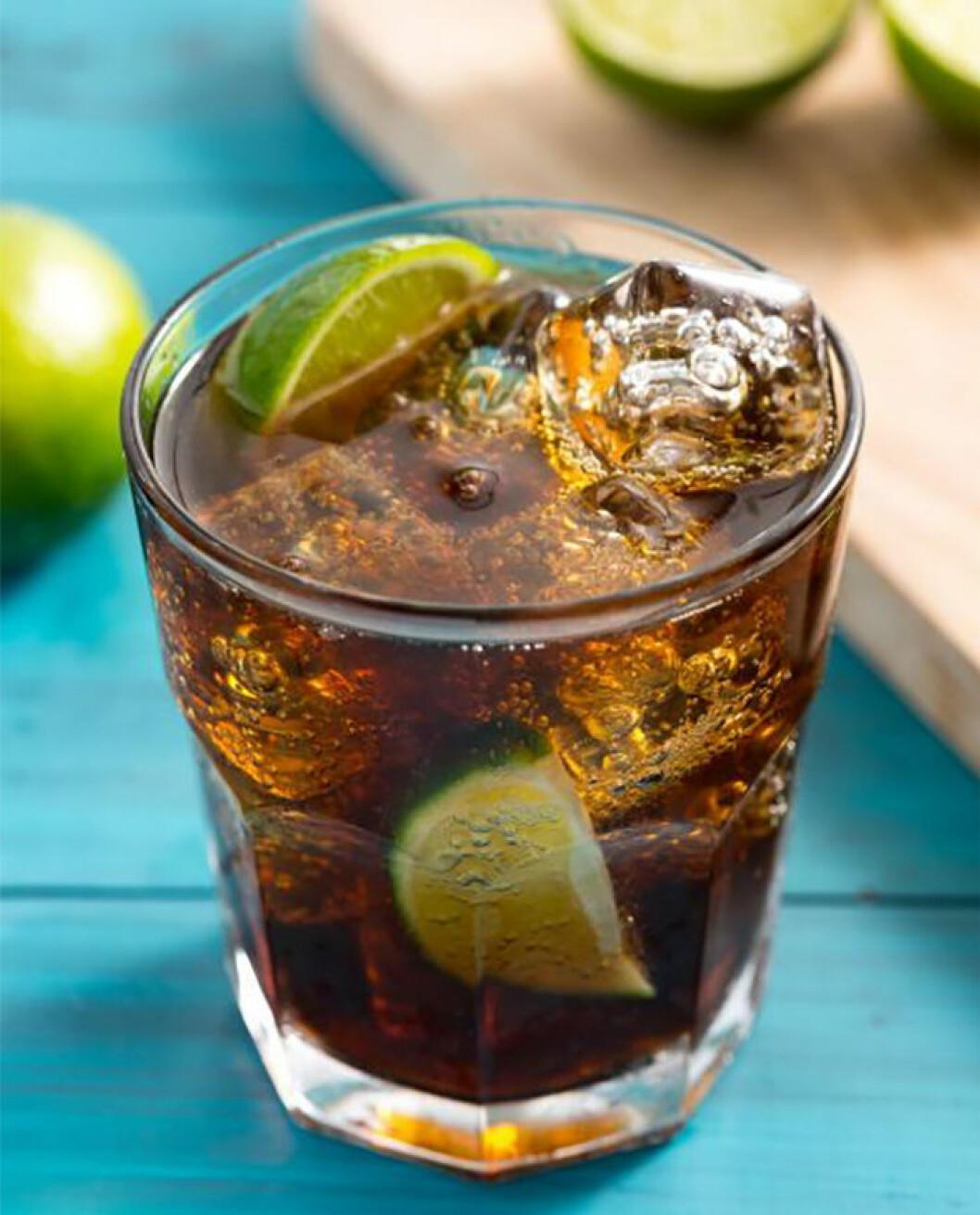 Enkel drink: Rom & Cola