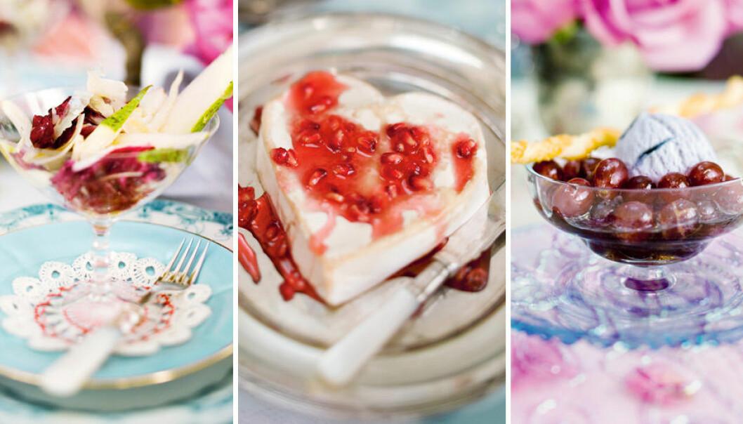 Laga en romantisk meny till alla hjärtans dag!