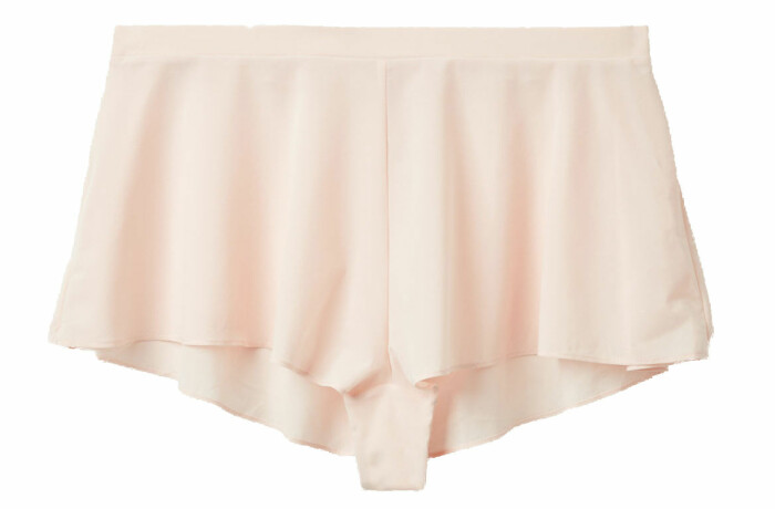 romantiska sovshorts i rosa från cos.