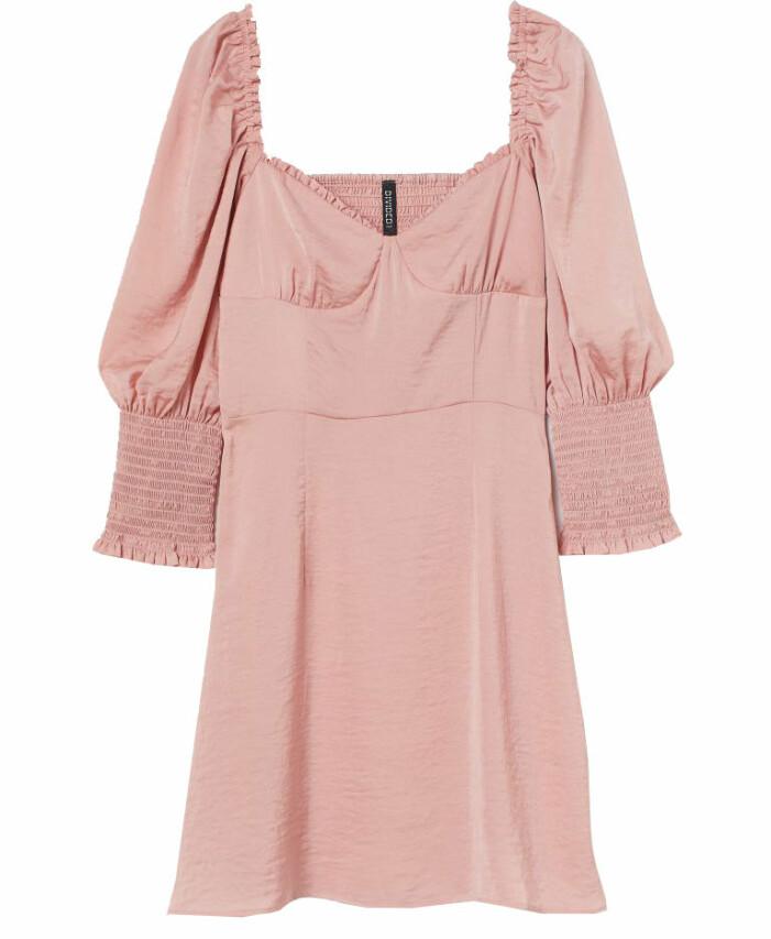 rosa klänning hm