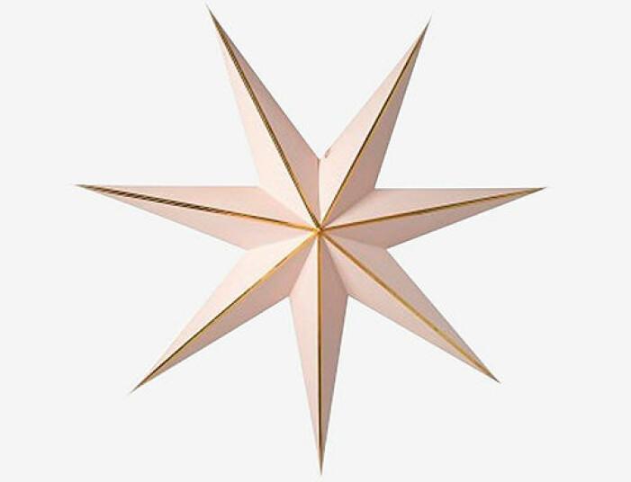 rosa julstjärna från watt veke