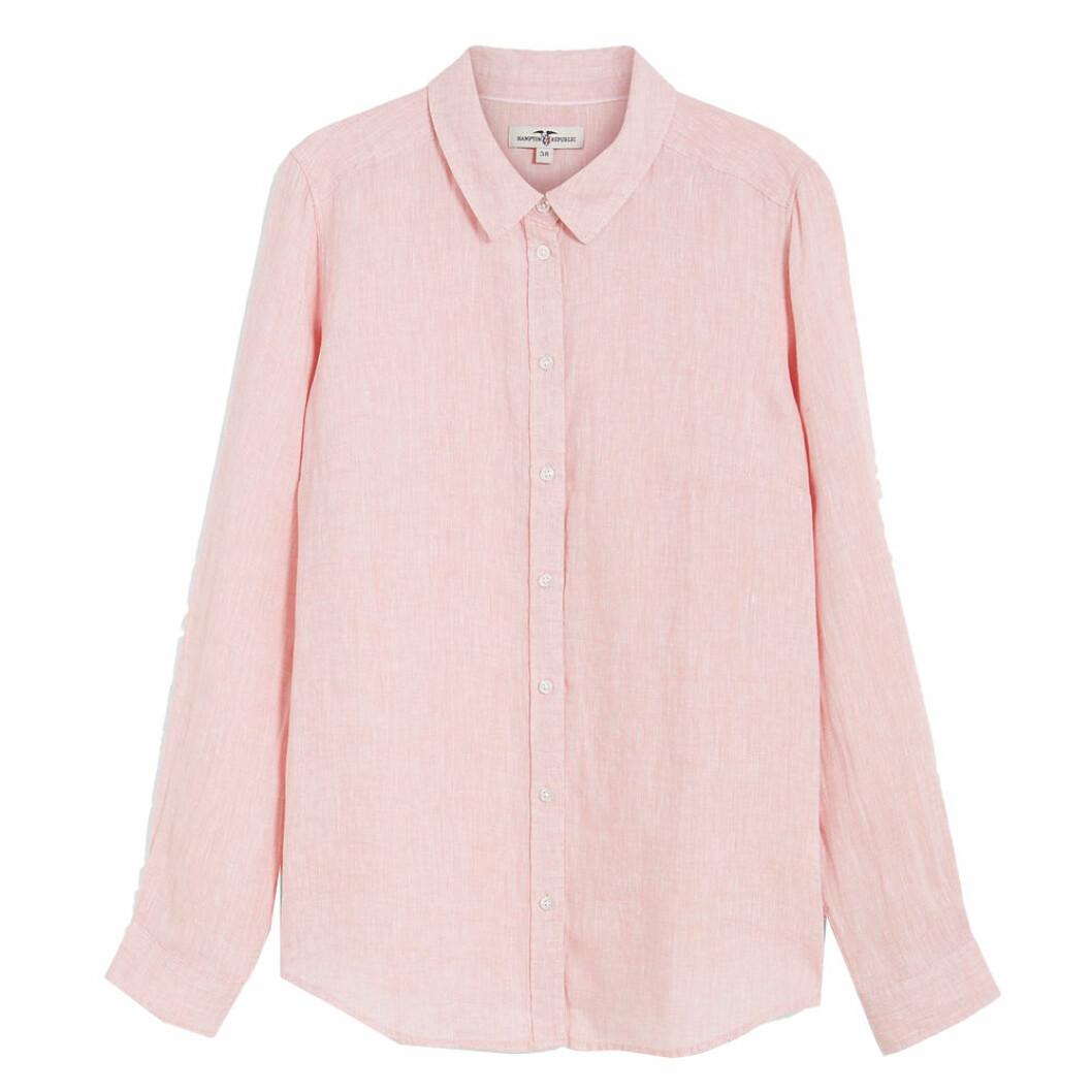 Rosa linneskjorta från KappAhl
