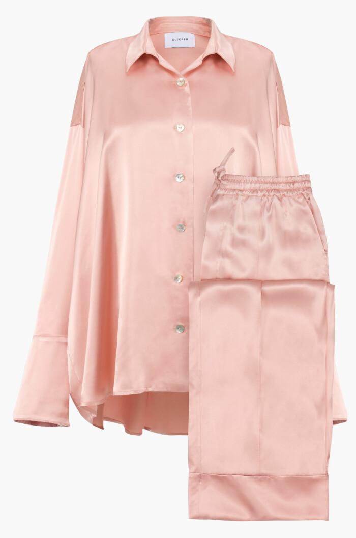 rosa pyjamas från sleeper.