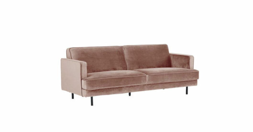 Rosa soffa