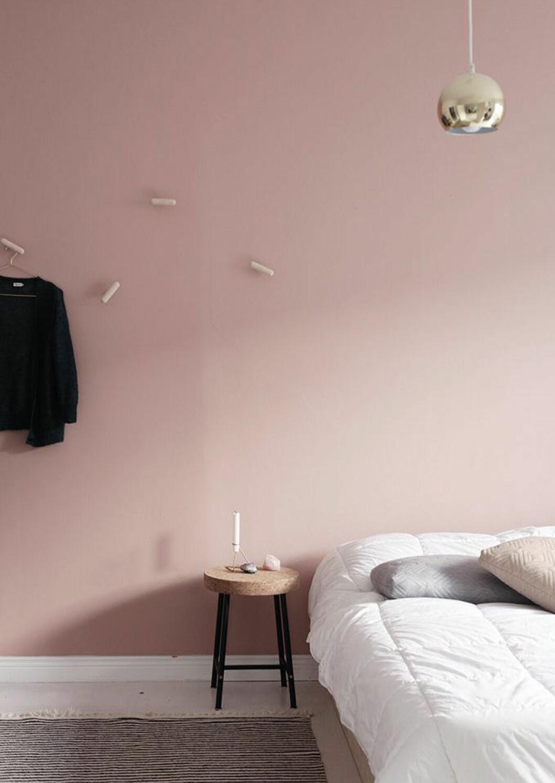 Gammelrosa sovrum