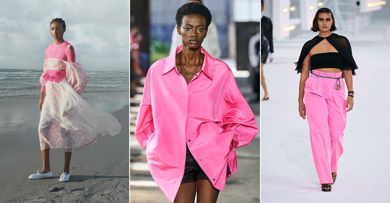 Så stylar du den trendiga färgen rosa våren 2021.
