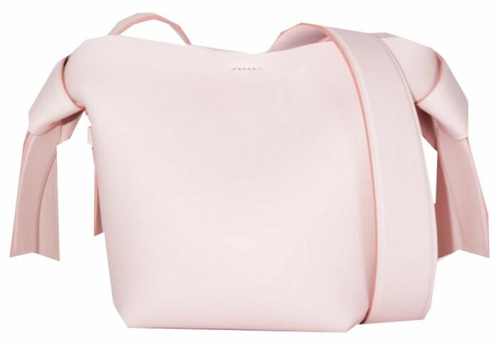 rosa väska acne studios