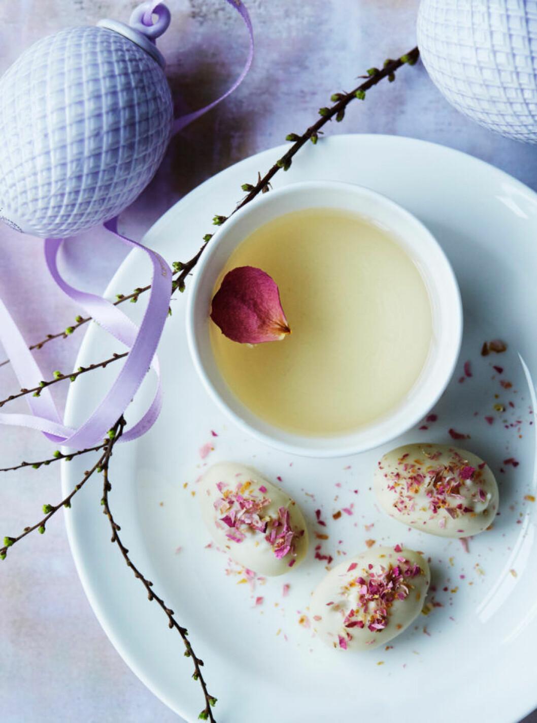 Recept på söta och supergoda rosenägg
