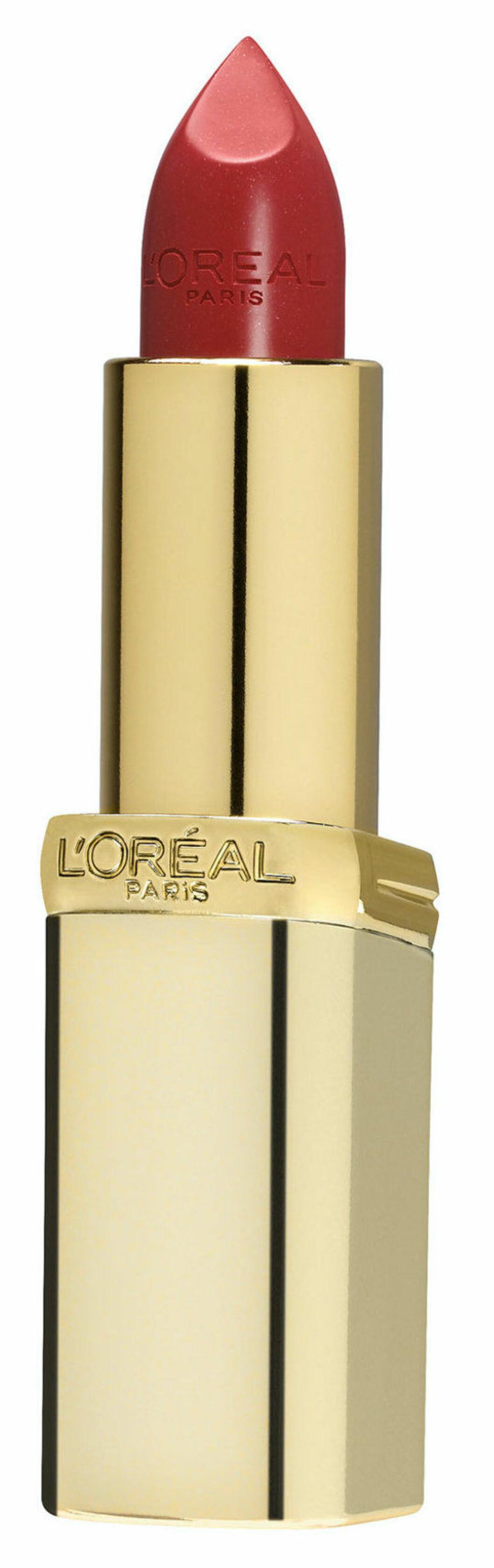 Klassiskt rött läppstift från Loréal.