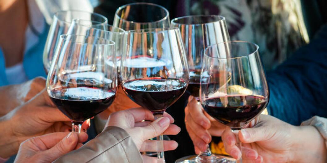 Rött vin är inte bara gott, det kan också vara bra för hyn