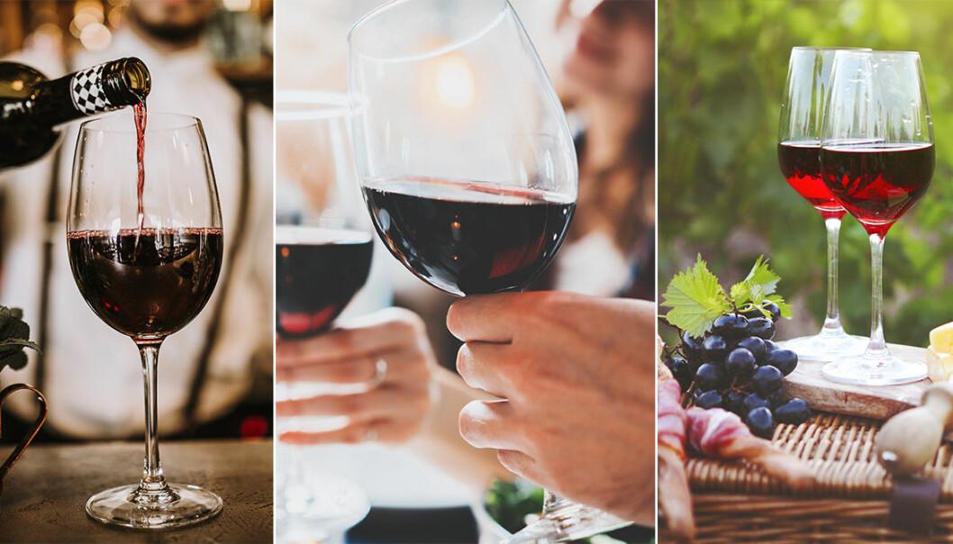 Hälsofördelar med rött vin