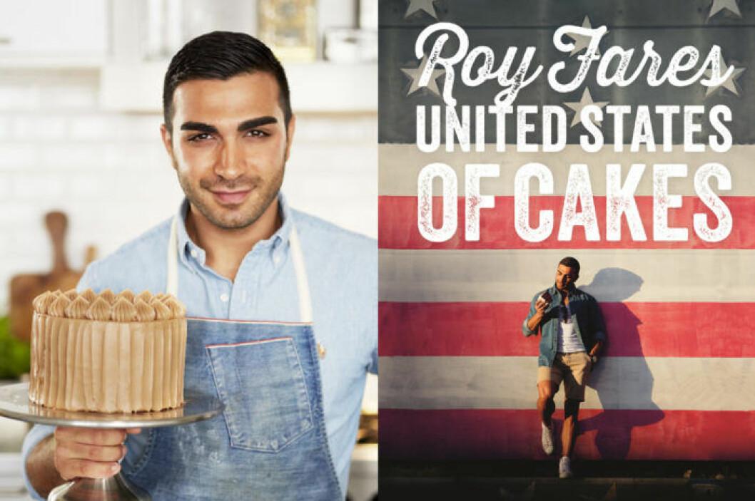 """Roy Fares har gett ut bakboken """"United States of Cakes"""" (Bonnier Fakta)."""