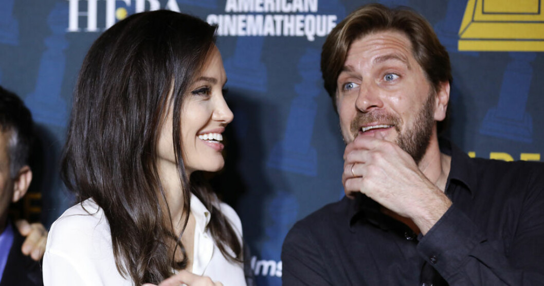 Angelina Jolie och Ruben Östlund