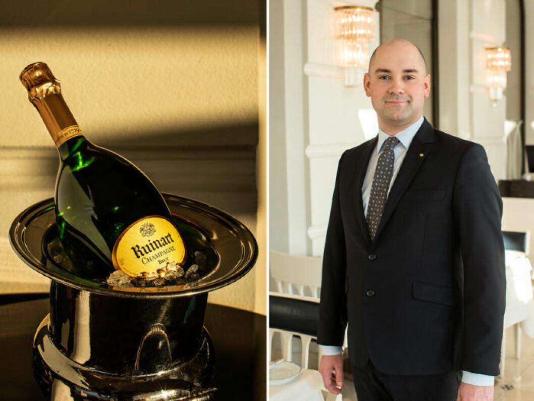 Karl Persson, källarmästare på Grand Hôtel.