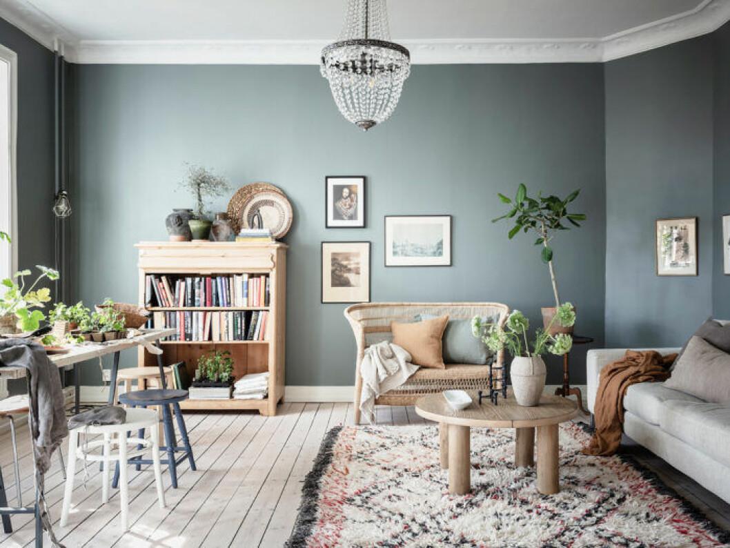 Skapa rum i rummet genom att gruppera möbler tavlor och mattor