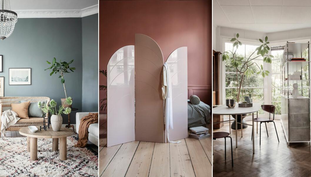 Så skapar du rum i rummet med och utan rumsavdelare – 11 tips