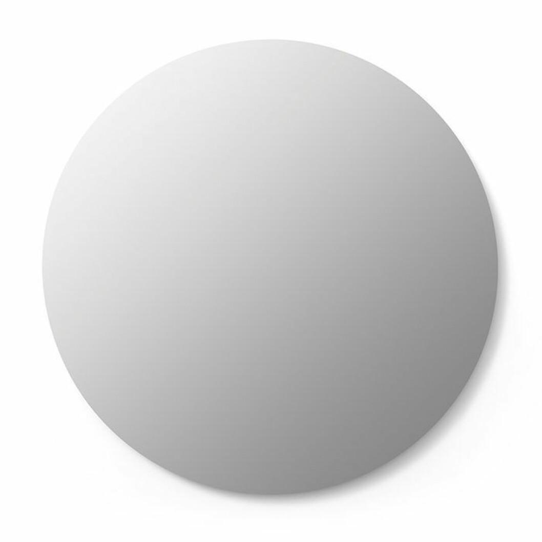 stilren rund spegel från åhlens