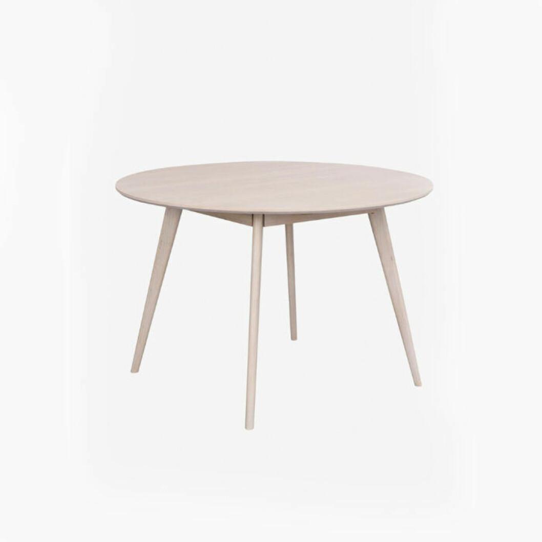 Enkelt vitt bord