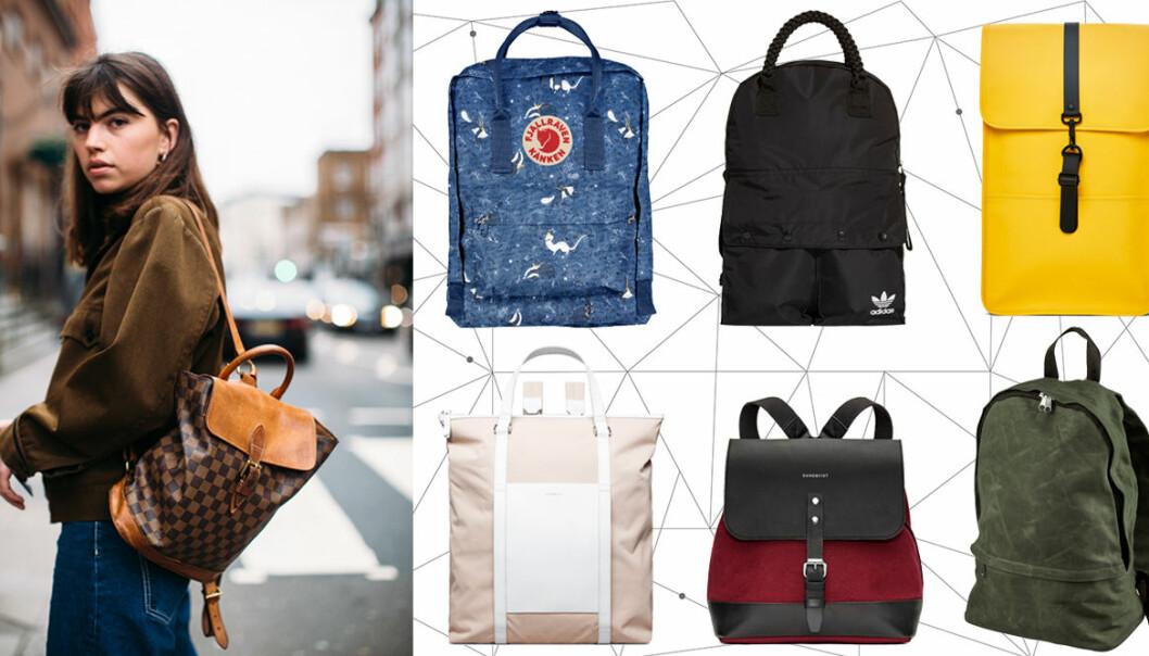 Shopping: Snygga ryggsäckar 2019