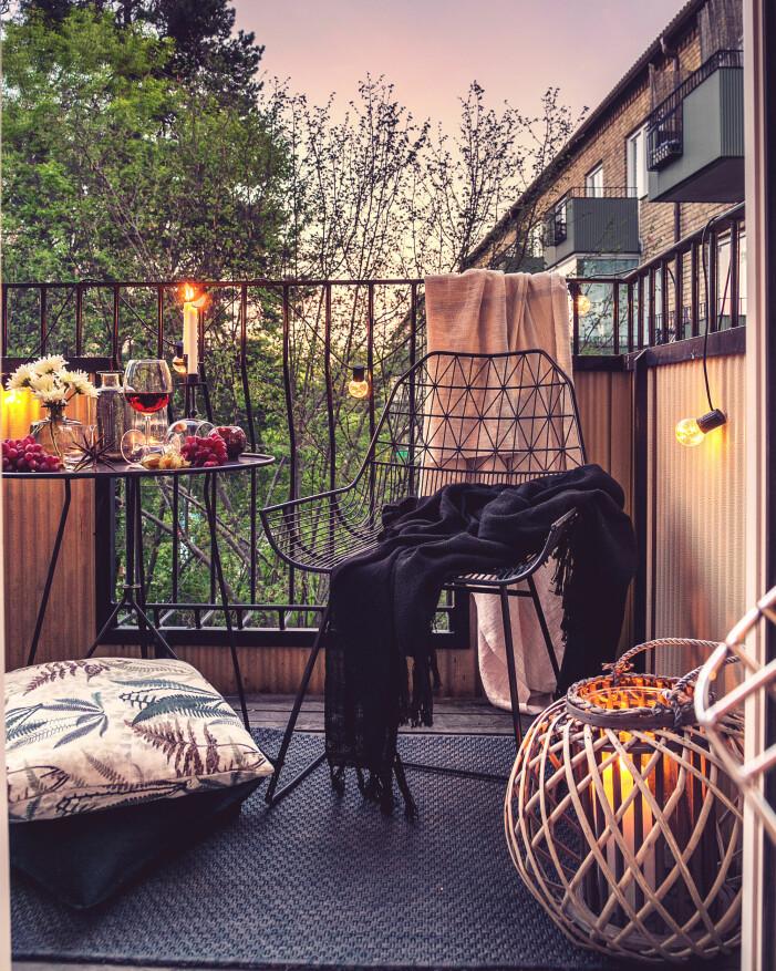 Så inreder du balkongen och uteplatsen 2021