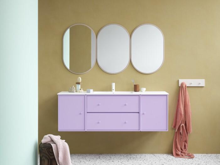 Så inreder du med färg i badrummet