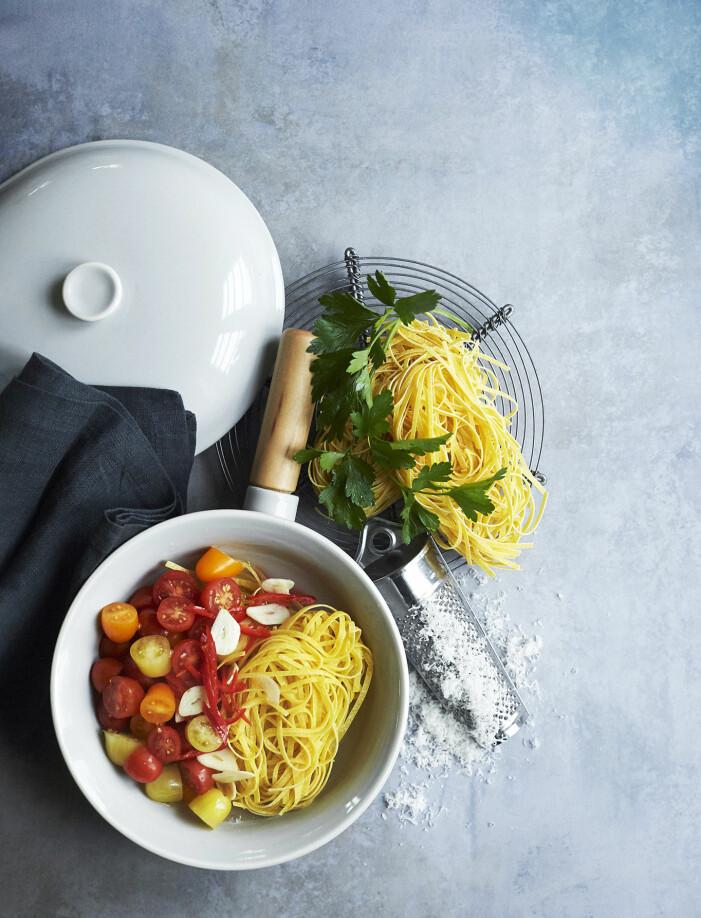 Så lagar du en snabb one pot pasta