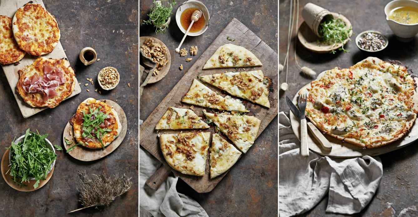 Så lyckas du med pizzakvällen, recept och tips