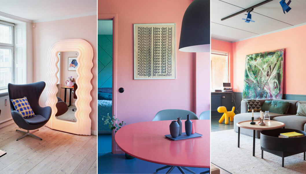 Så väljer du rätt rosa nyans till väggarna
