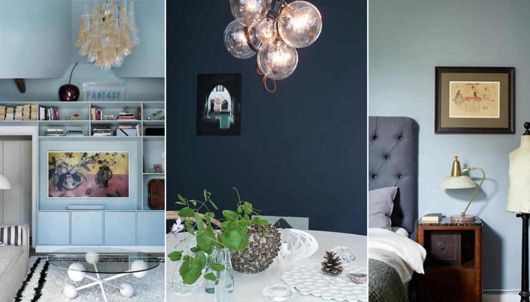 Så väljer du rätt blå nyans till väggarna och smarta tips