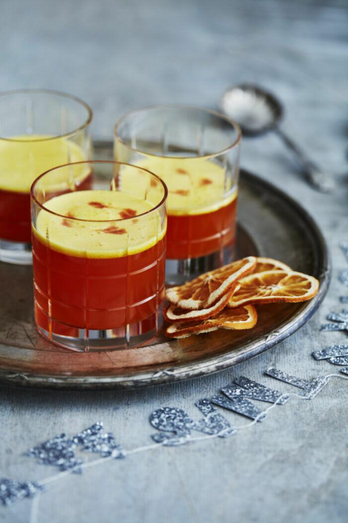 Recept på alkoholfri saffran sour