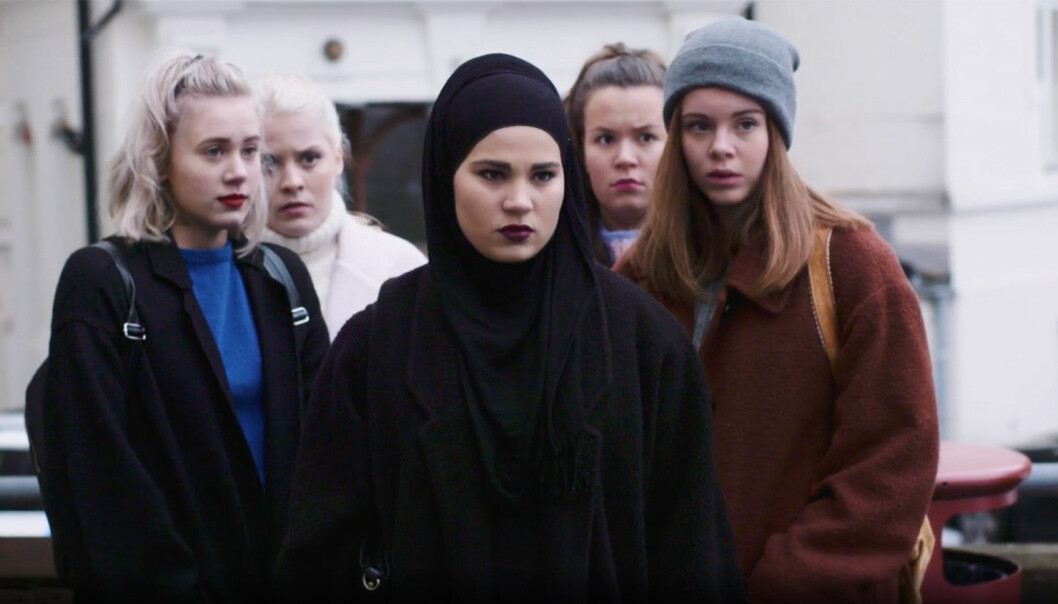 Detta är SVTs nya ungdomsserie.