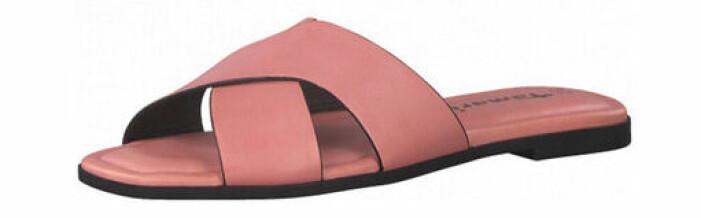 rosa tofflor dam