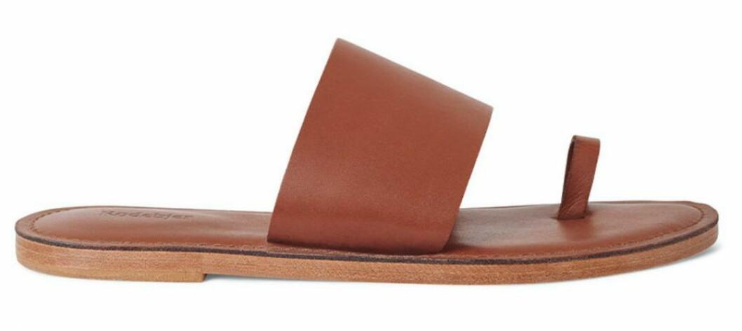 bruna sandaler från Rodebjer.