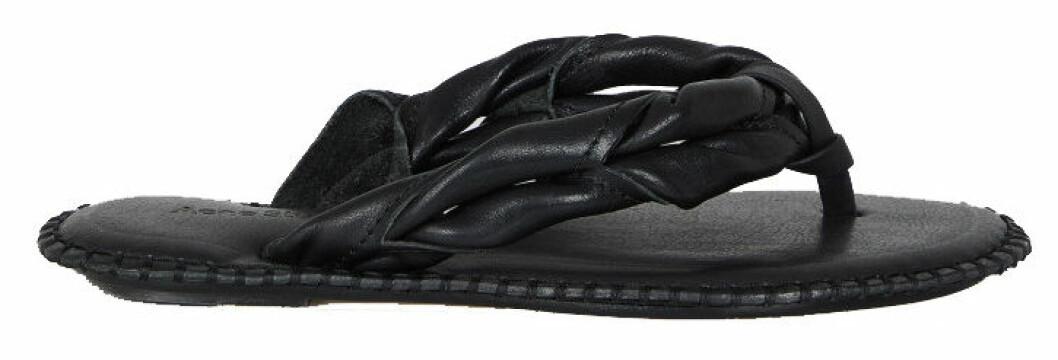 flip flop-sandaler i flätad design från acne studios.