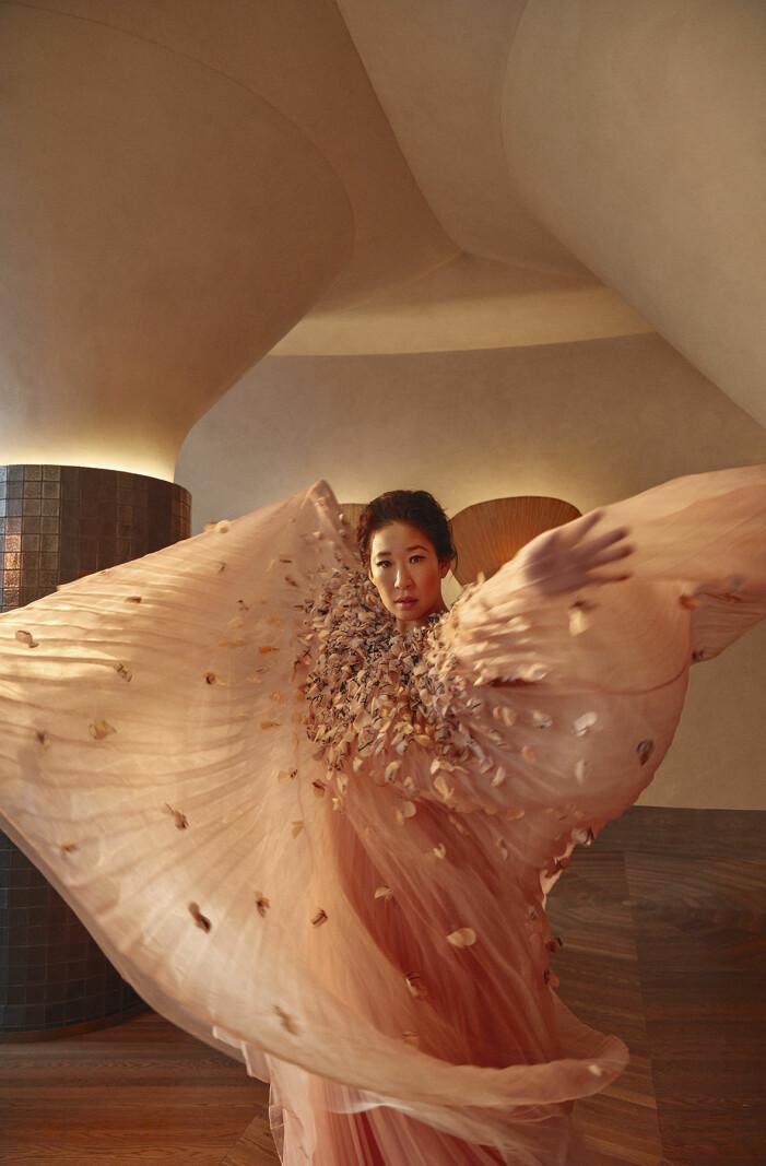 Sandra Oh är bland annat med i hyllade Killing Eve.
