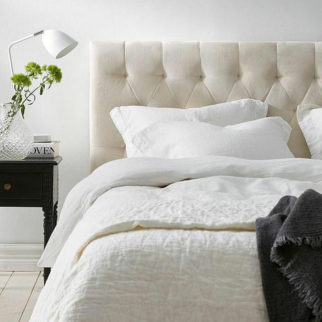 Stoppad sänggavel