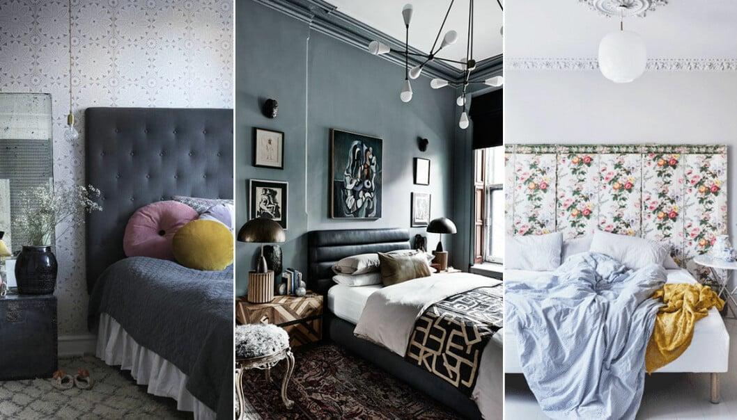 Tips på hur du kan förnya sovrummet med en sänggavel.