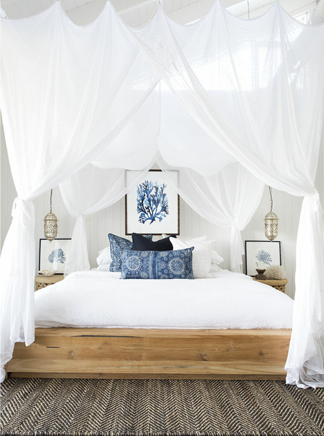 Sänghimmel som passar sänggavel