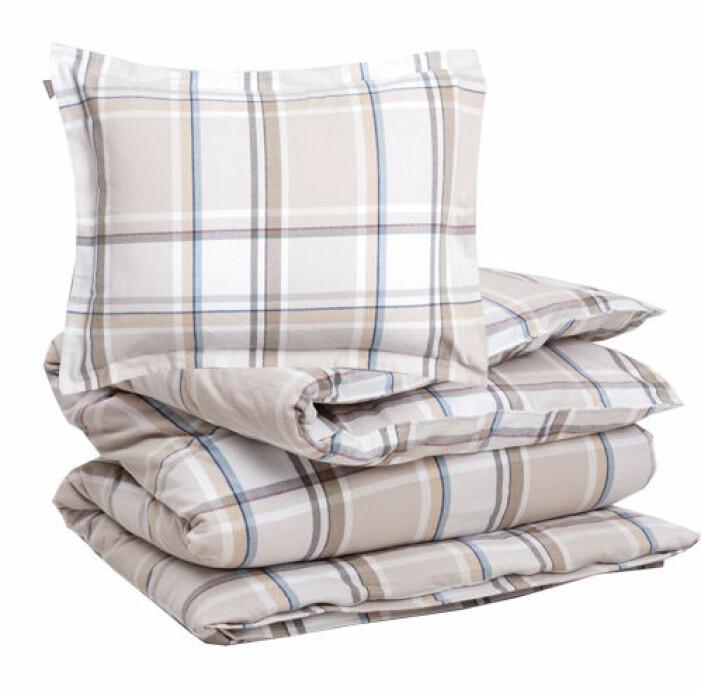 sängkläder i flanell rutigt