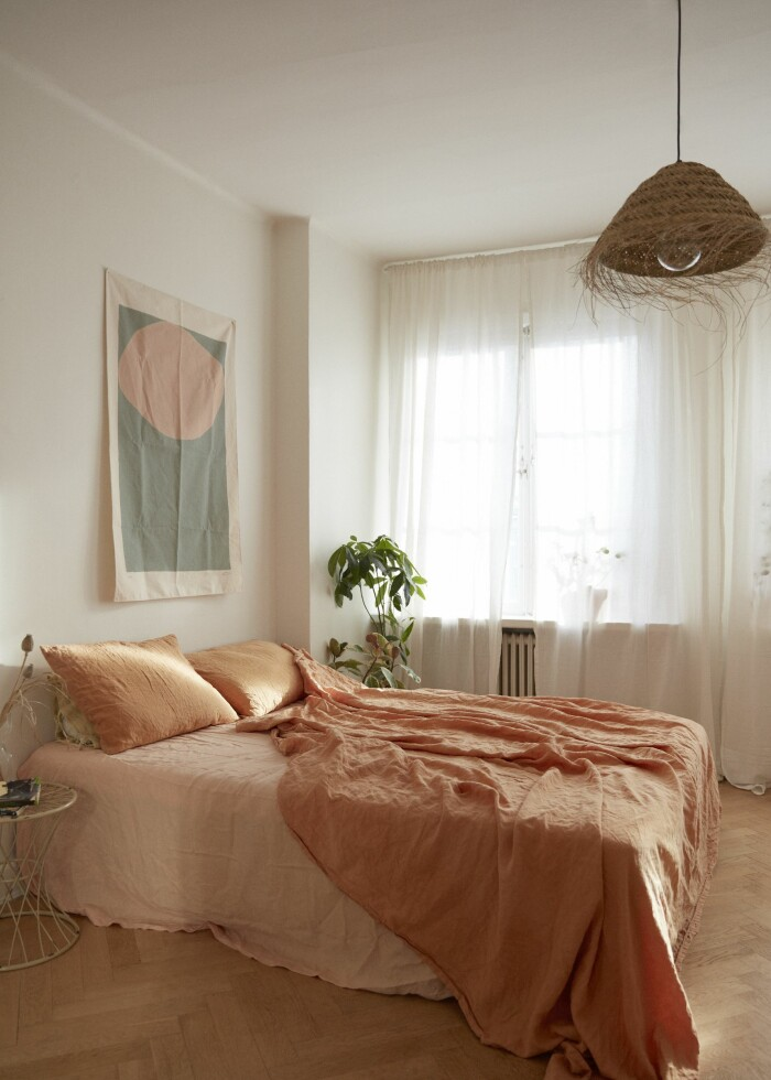 Sarah Memel Törnebäck hemma hos Stockholm sovrum