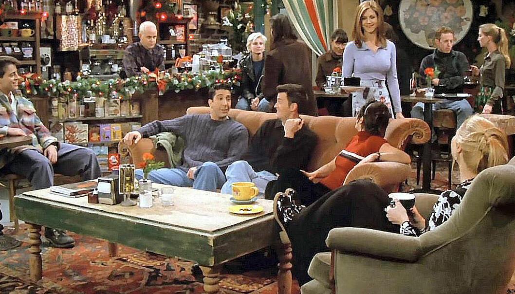 scen ur tv-serien vänner