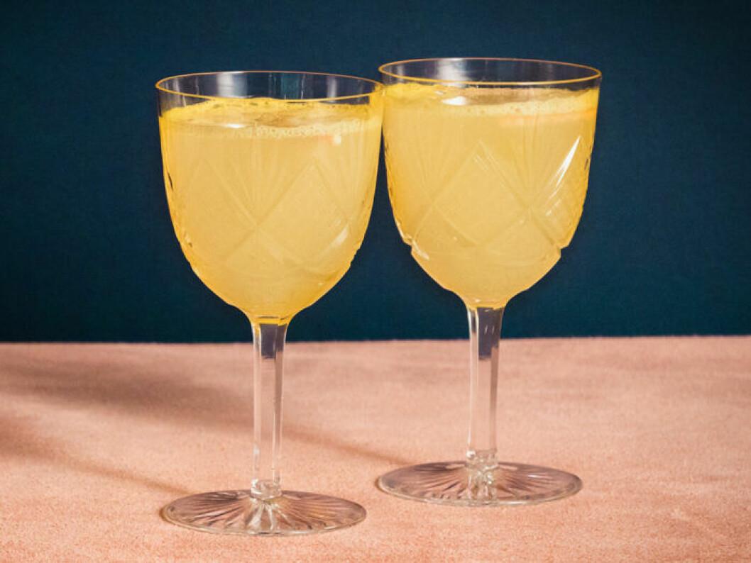 Ginger Mimocka (alkoholfri Mimosa).