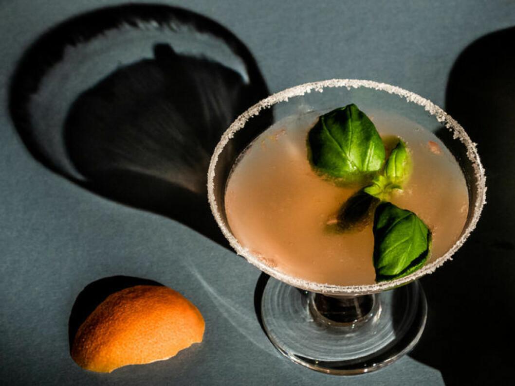 Ginger Mockarita (alkoholfri Margarita).