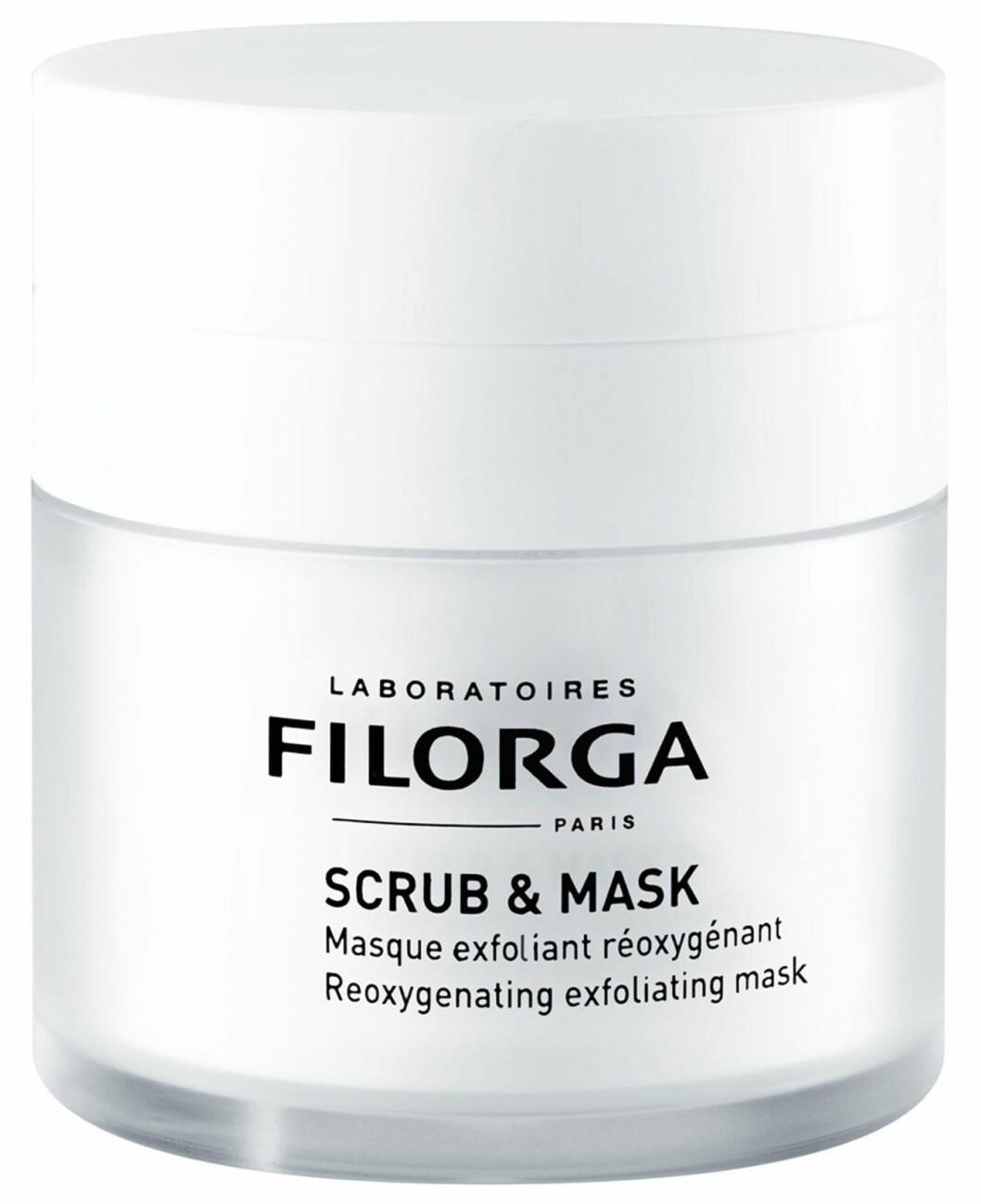 Exfolierande scrub and mask från Filorga.